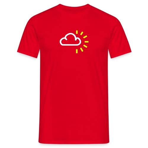 sunny intervals - Men's T-Shirt