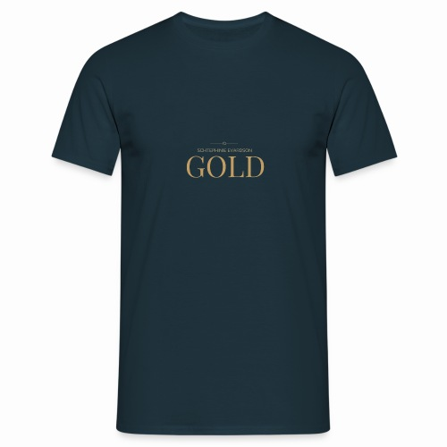 Schtephinie Evardson: Ultra Premium Gold Edition - Men's T-Shirt