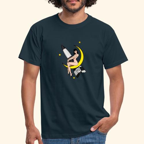 V2 Pinup Girl - T-shirt herr