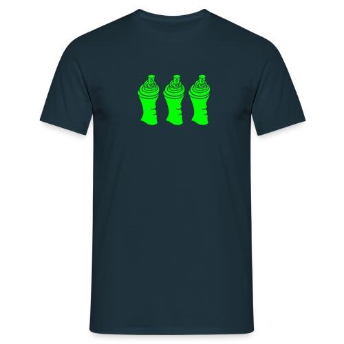 Aerosol Junkie Sprayer Can Sprühdose Graffiti Crew - Männer T-Shirt