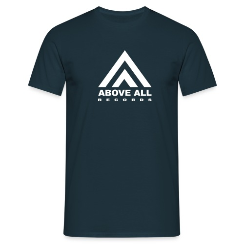 Above All logo White - Men's T-Shirt