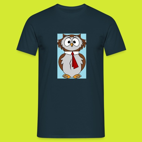 animal eule - Männer T-Shirt