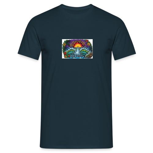 Sonne Strand und meer - Männer T-Shirt