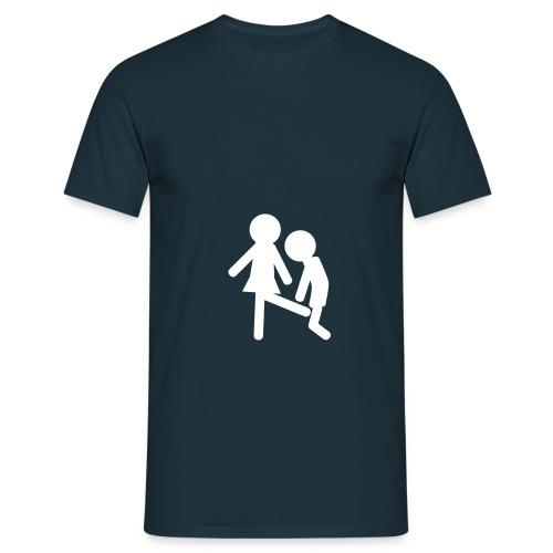 Penalty kick - Herre-T-shirt