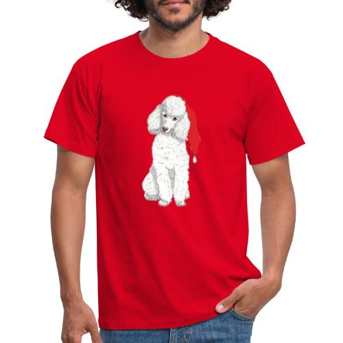 Poodle toy W - christmas - Herre-T-shirt