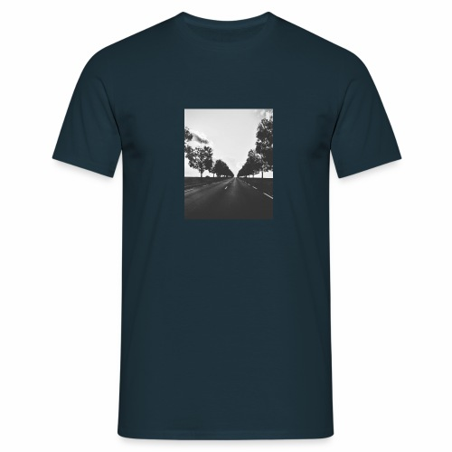 Road and trees - T-shirt Homme