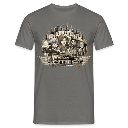 risingcities mb yourcityneedsyou distres - Männer T-Shirt