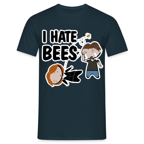x files i hate bees - Camiseta hombre