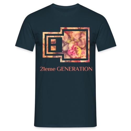 21ème GENERATION Modèle UrbanCloud - T-shirt Homme