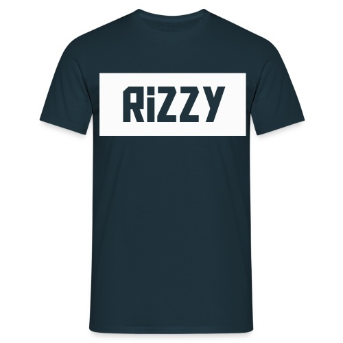 rizzy new design png - Men's T-Shirt