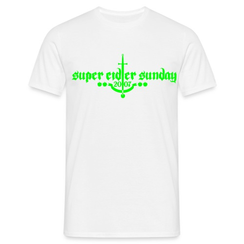 supercidersunday 07b - Men's T-Shirt