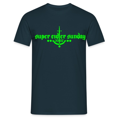supercidersunday 07b - Men's T-Shirt
