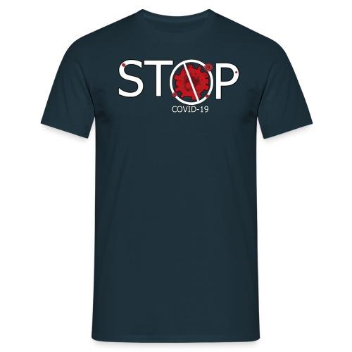 Coronavirus STOP COVID 19 - Camiseta hombre