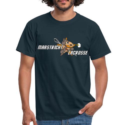 Vintage Maastrichtse lacrosse - Mannen T-shirt