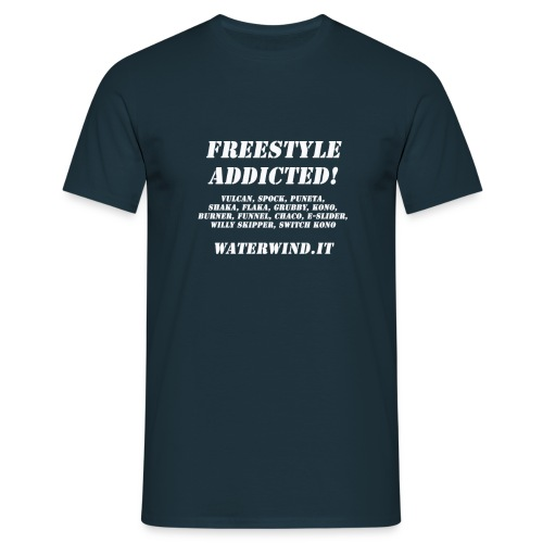 freestyle addicted - Men's T-Shirt