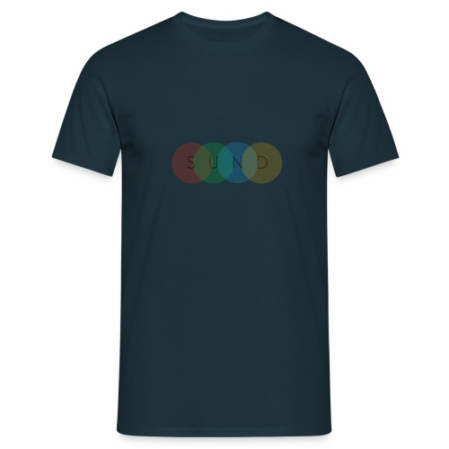sund color - Mannen T-shirt