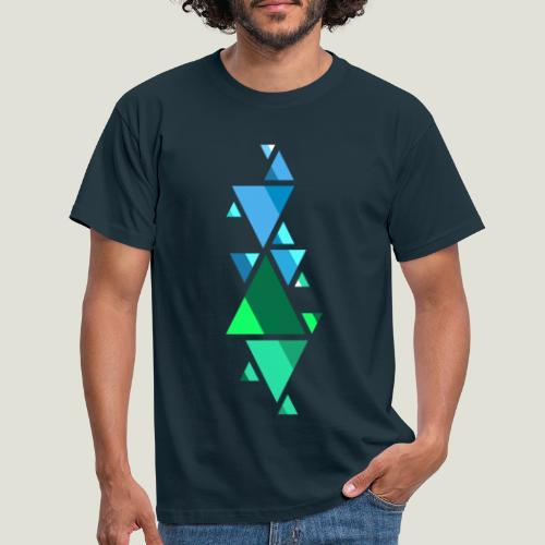 Shaped Fonts - Männer T-Shirt