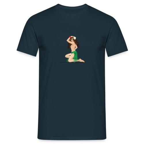 Hula Girl - Männer T-Shirt