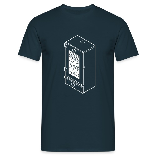 rookkast - Mannen T-shirt