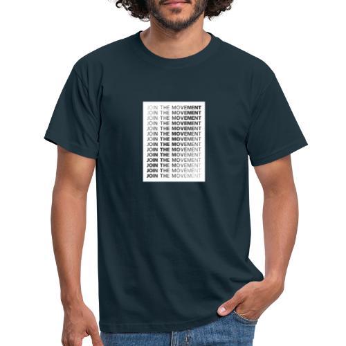 JoinTheMovement SketchFile - Mannen T-shirt