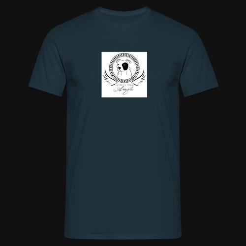 logo weiß - Männer T-Shirt