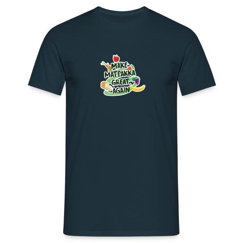 Logo Make Matpakka Great Again - T-skjorte for menn