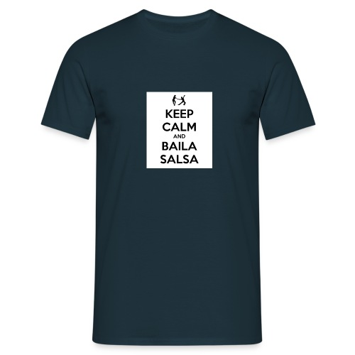 keep-calm-and-baila-salsa-41 - Maglietta da uomo