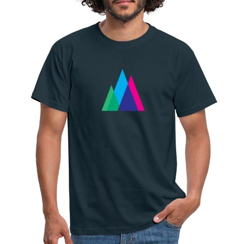 Abstract Mountains Symbol - Men's T-Shirt