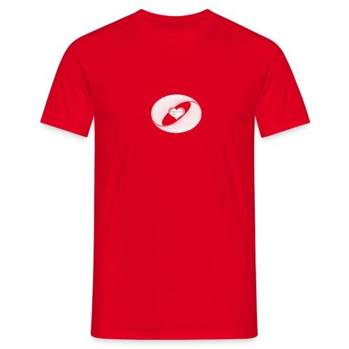 heart design -EDL-psy - Männer T-Shirt