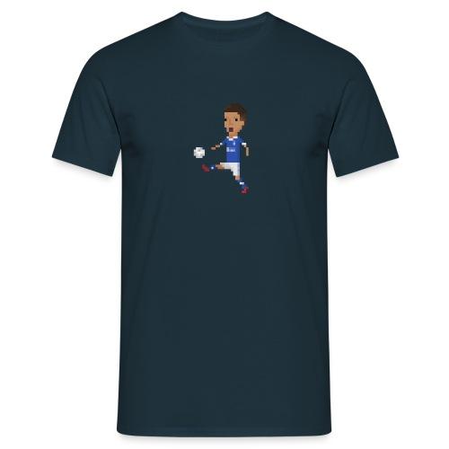 Kicking the ball celebration - Men's T-Shirt