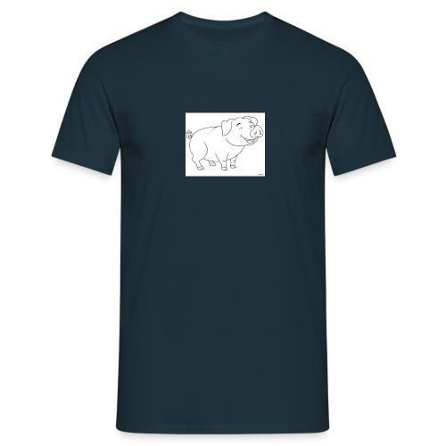 Cochon de lait anime. - T-shirt Homme