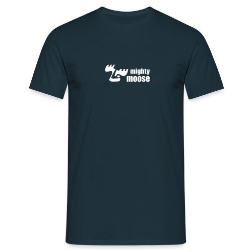 mightymoose quer 1c - Männer T-Shirt