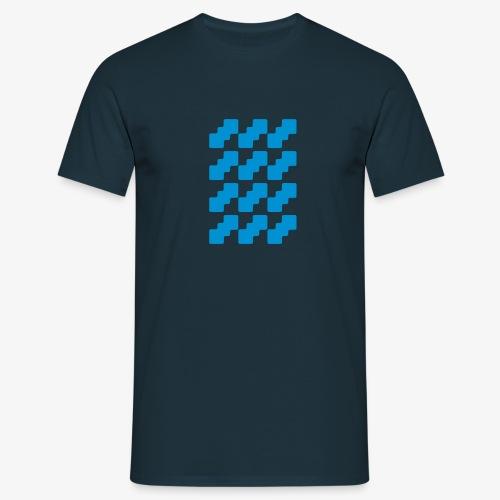 Fluid logo - Maglietta da uomo