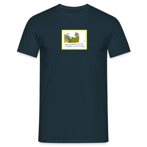 computer3 - Men's T-Shirt