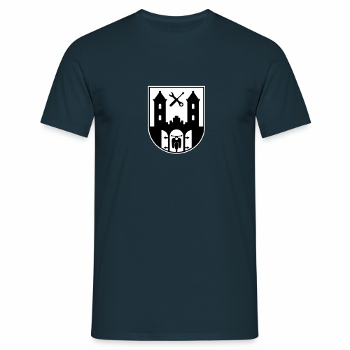 Simson Schwalbe - Suhl Coat of Arms (2c) - Men's T-Shirt