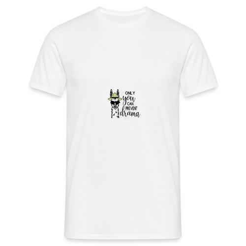 Lama Drama - Mannen T-shirt