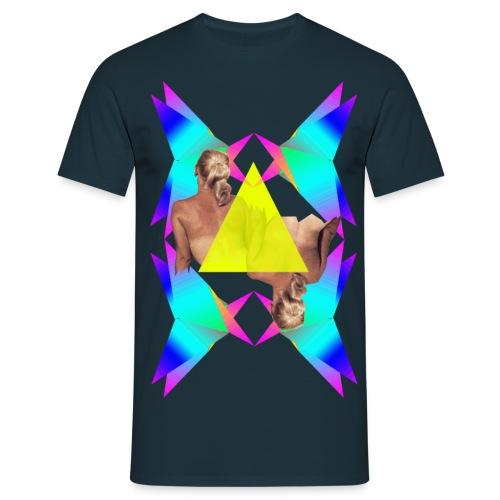 Geometrie - Männer T-Shirt