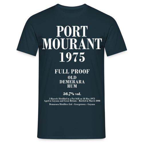 PM 1975 Velier Demerara Designs - Herre-T-shirt