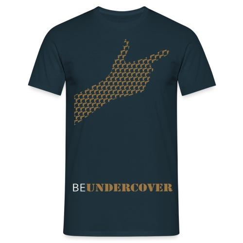 BEUNDERCOVER.png - Mannen T-shirt