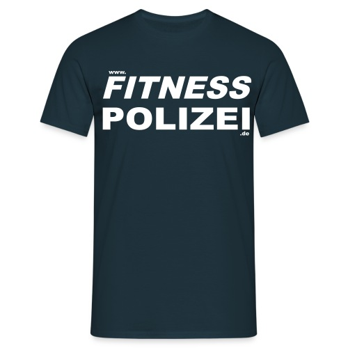 fitnesspolizeiweb - Männer T-Shirt