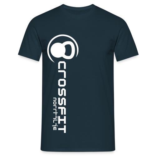 logo vit png - T-shirt herr