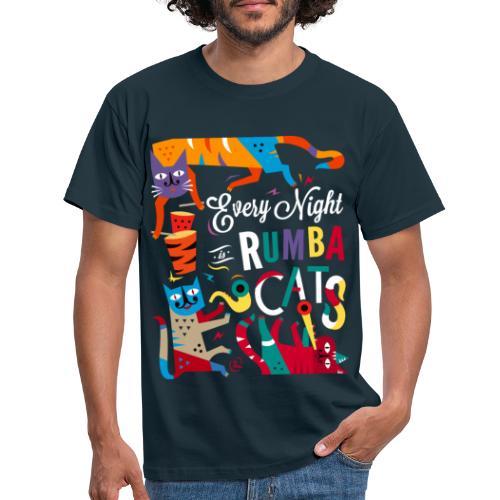 Chats Musique - Rumba salsa mambo - T-shirt Homme