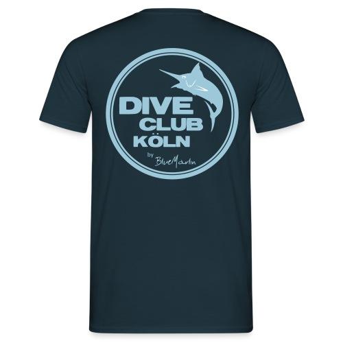 BlueMarlin - DiveClub Köln - Männer T-Shirt
