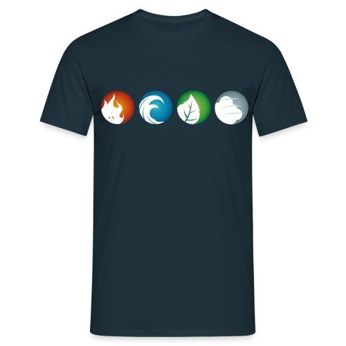 logo rond blanc V2 png - T-shirt Homme