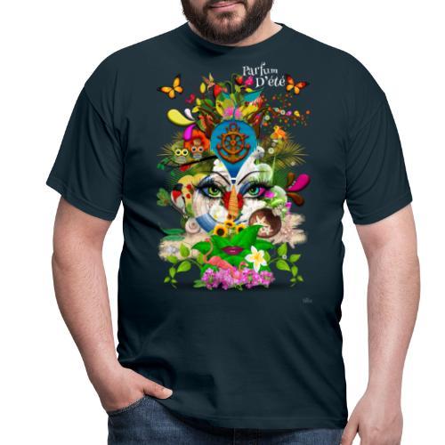 Parfum d'été by T-shirt chic et choc (tissu foncé) - T-shirt Homme