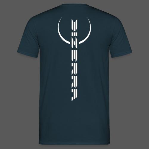 Dizerra Logo mit Bogen - Männer T-Shirt