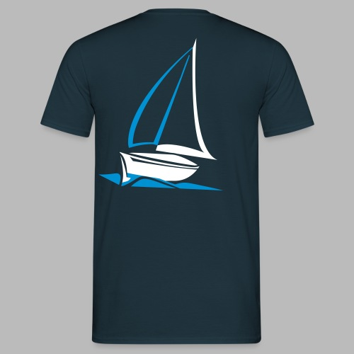segelyacht - Männer T-Shirt