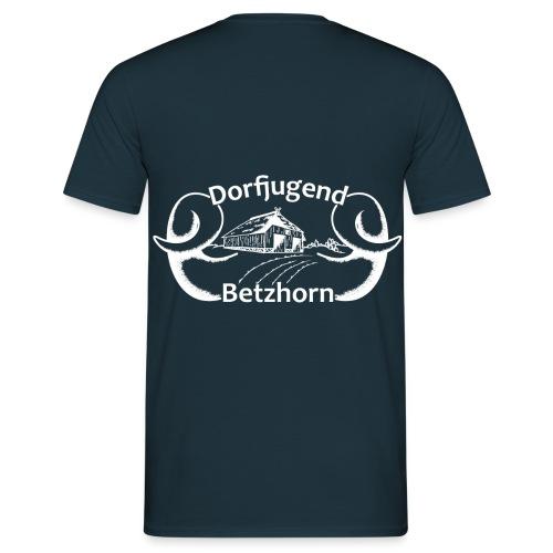 Dorfjugendlogo Betzhorn WEISS - Männer T-Shirt