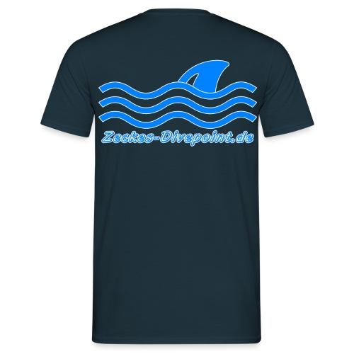 ZD_Logo_Text - Männer T-Shirt
