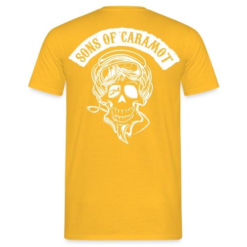 logo sonsofcaramot logo - T-shirt Homme